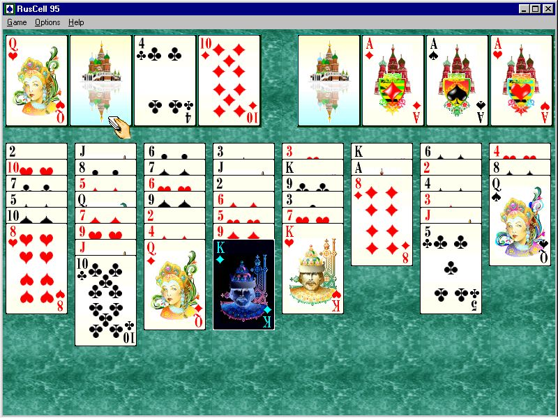 Ruscell solitaire